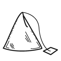 pyramid shaped teabag
