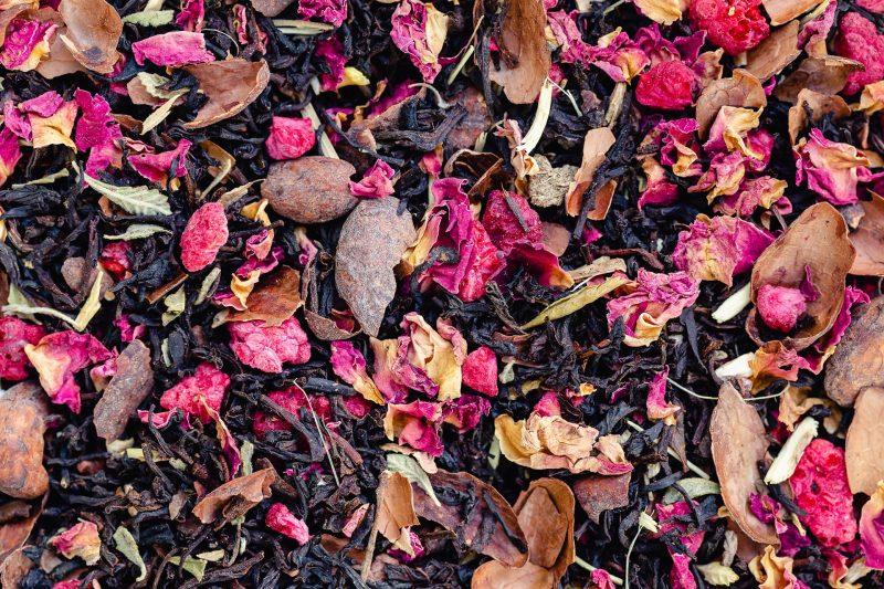 Raspberry Choc Kiss Tea Blend by Twist Teas