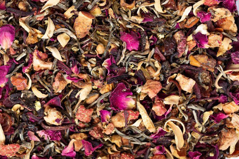 Strawberry & Rose Tea Blend by Twist Teas