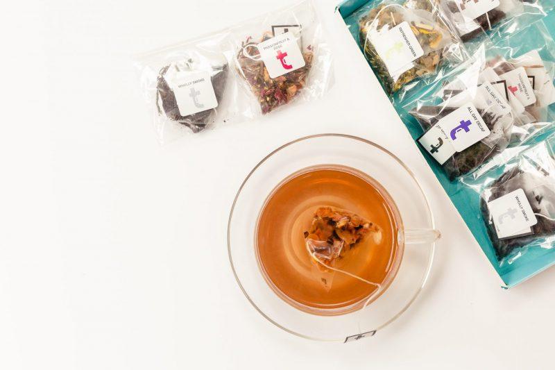 Assorted Teas Tasting Menu Teabag Brewing