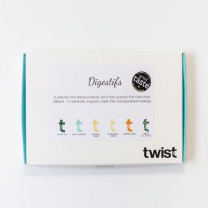 Digestifs Tea Tasting Menu Box