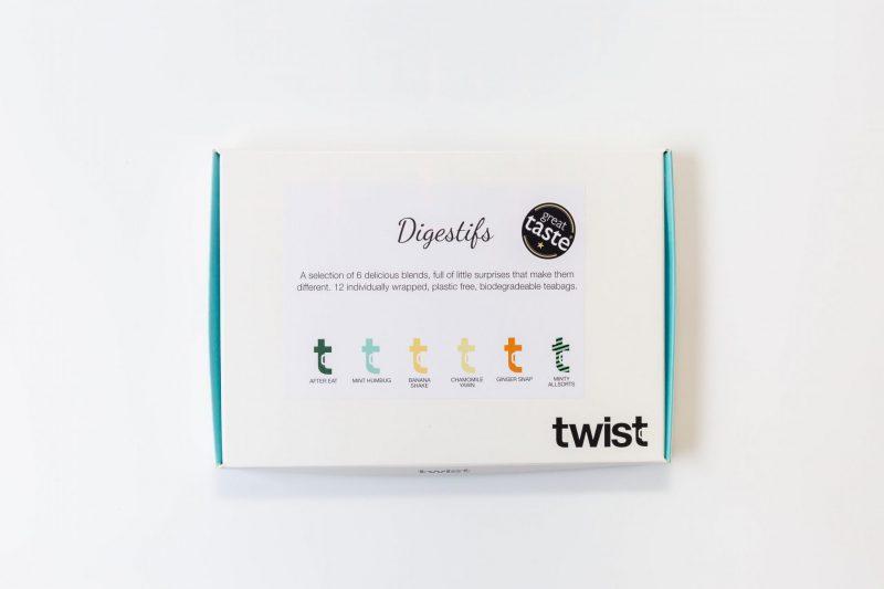 Digestifs Tea Tasting Menu Box