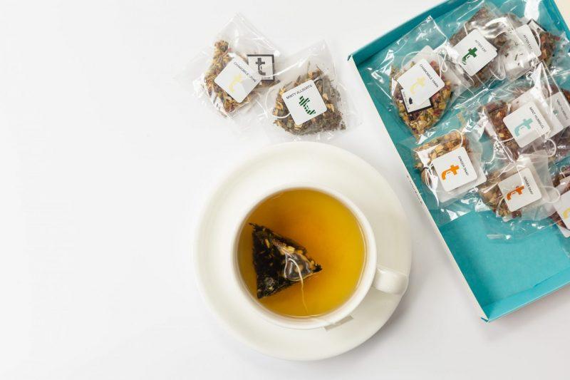 Digestifs Tasting Menu Teabag Brewing