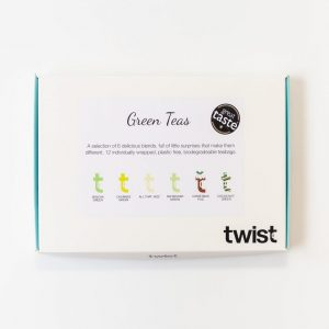 Green Teas Tasting Menu Box