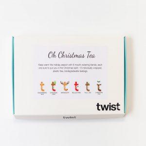 Oh Christmas Tea Tasting Menu
