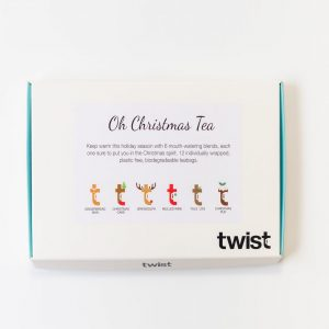 Oh Christmas Tea Tasting Menu Box