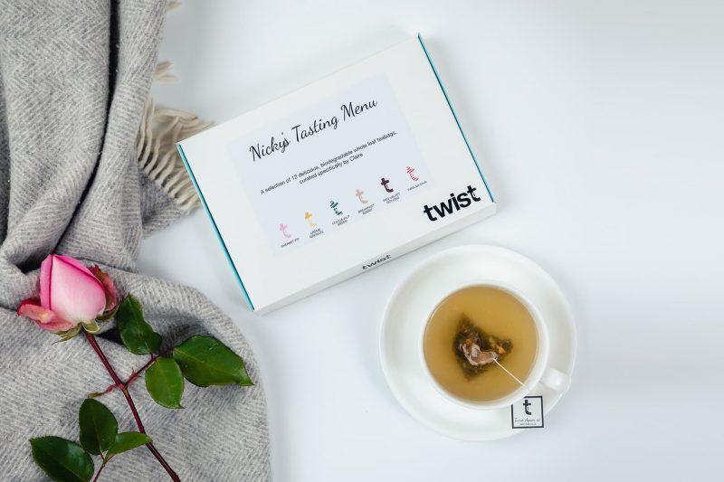 Personalised Tea Tasting Menu
