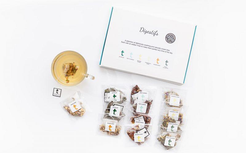 Digestifs Tea Tasting Menu