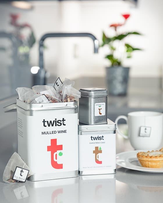 Twist Teas Tea Caddies