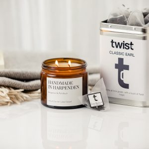 Classic Earl Caddy and Bergamot Candle