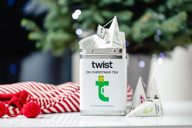 Oh Christmas Tea Pyramid Tasting Menu