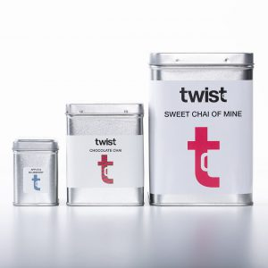 Twist Teas Tea Caddies in All Sizes