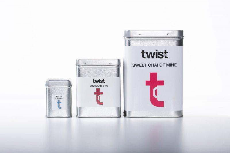Twist Teas Tea Caddies in All Sizes