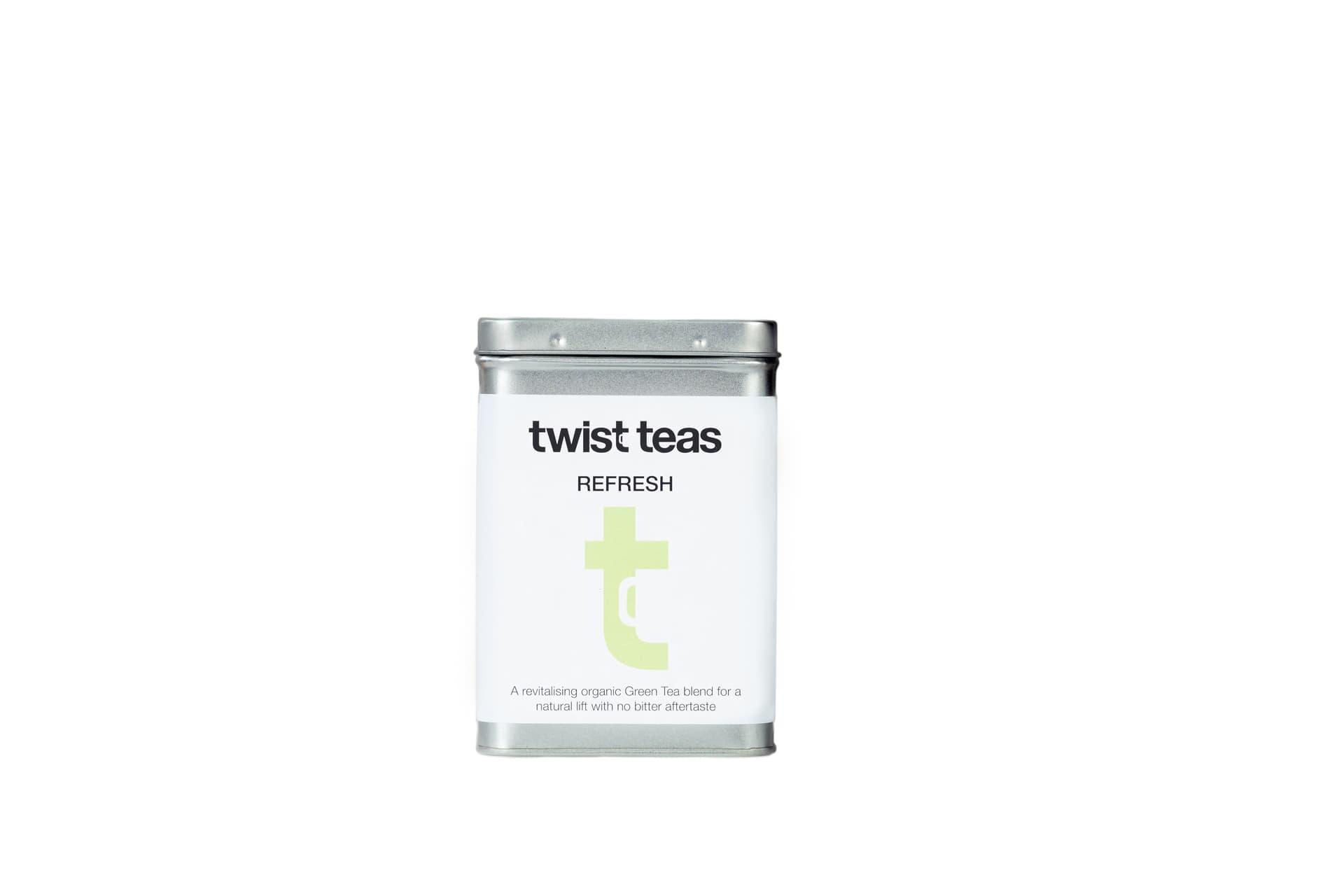 Twist Teas Refresh Tea Caddy