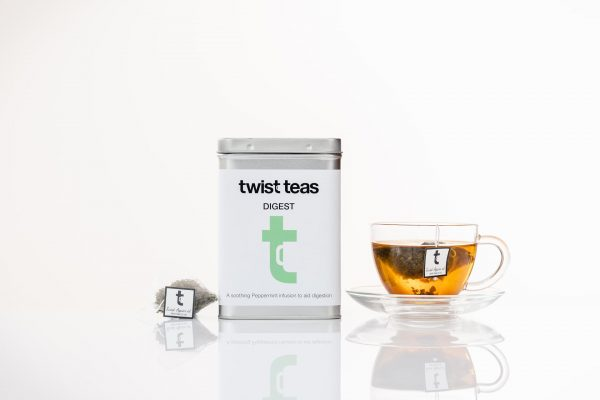 twist Teas Digest Tea in cup