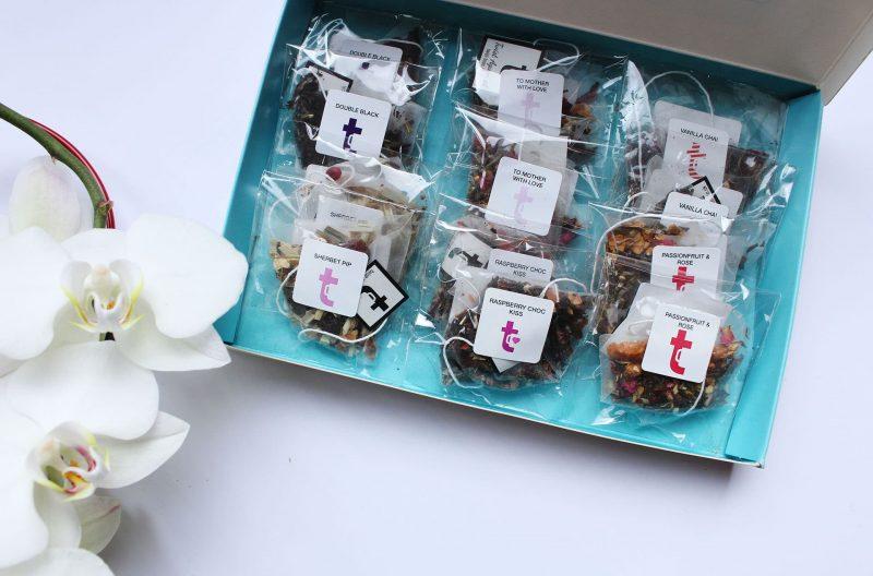 Mother's Day Tea Bags Inside Tasting Menu