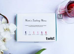 Mother's Day Tea Tasting Menu