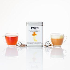 Restore Tea & Detox Tea Buddy Caddy