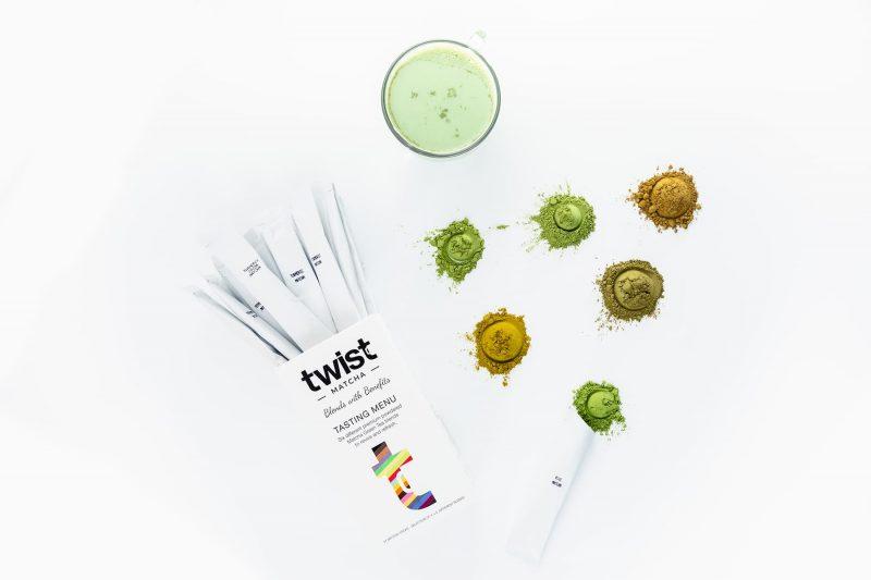 Twist Teas Matcha Sticks Tasting Menu