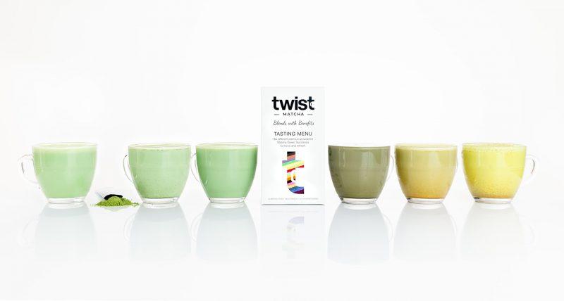 Twist Teas Matcha Tasting Menu Brewed