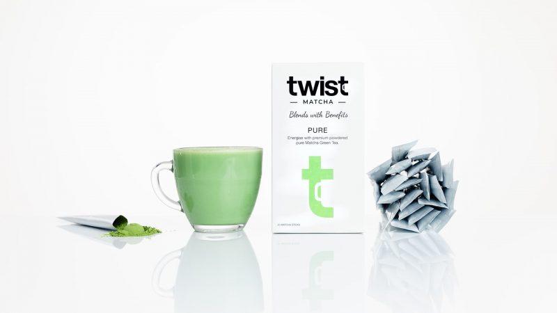 Twist Teas Pure Matcha Tea Sticks Brewed