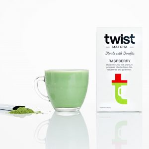 Twist Teas Raspberry Matcha Tea Sticks