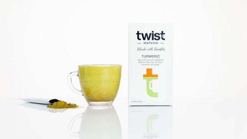 Twist Teas Turmeric Matcha Tea Sticks