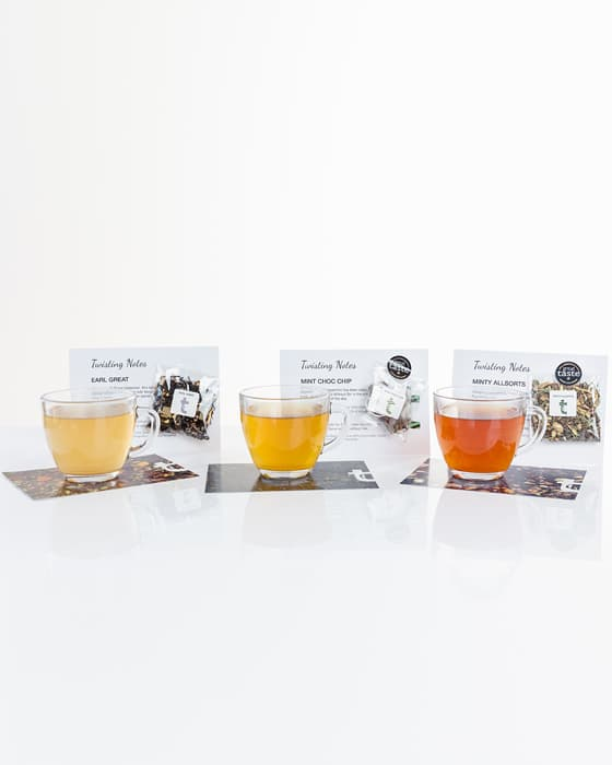 Our monthly tea subscription includes free surprise samples