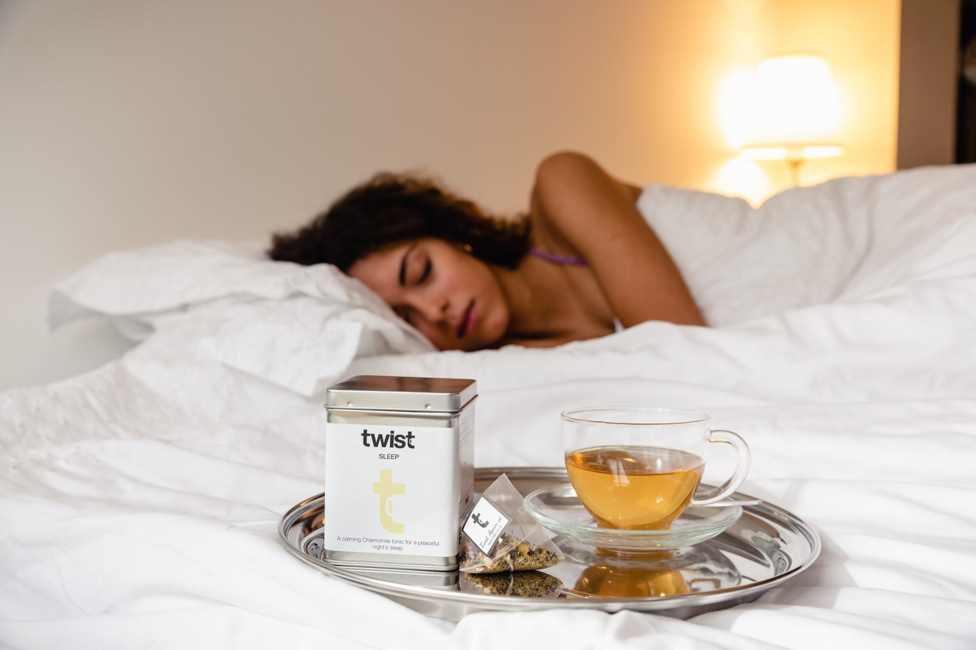 Trouble sleeping? Drinking the right tea can help you sleep…